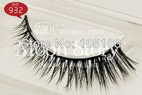 Free shipping! High quality natural mink fur hair hand made Thick Long False Eyelashes false Voluminous, Free glue