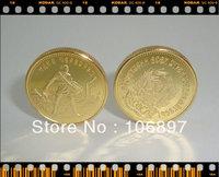 1 pieces / lot Gold clad Replica Russian Souvenir coins