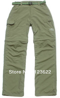 Mens outdoor clothes Quick dry  Pants Full Length  good quality Fast Dry Hiking trousers for Woman