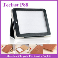 1pcs Free ship ! Orignial PU Leather Case For Teclast P88 Dual Core Quad Core Teclast Tablet pc