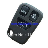 Volvo3 button keyless remote case & Volvo 3 button remote cover Fob