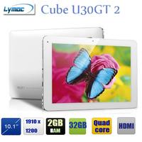 10.1 inch  tablet quad core RK3188 + 1920X1200 AHVA screen + 2GB/32GB+Dual camera+bluetooth + HDMI Cube U30GT2