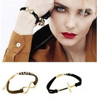 (Min.order is $10 ,can order different items) fashion Individual metal 8 font bracelet bangle, Free Shipping !
