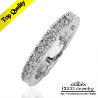 18k Gold Plated CZ Diamond Fashion Cool Men Ring Wholesale High Quality Brand Jewelry R156