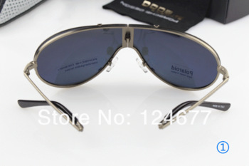 2013 Free shipping! Man polarizing folding sunglasses, prevent UVA, UVB 610~Mirror driver luxury male boutique sunglasses ~cool~