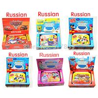 Best selling cartoon Type Kids laptop computer Russian language Learning machine Funny Machine educational toy 1 pcs