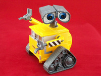 Free shipping Wall-E Toys 12cm Robot WALL E toy figures opp package 5 pcs/set best gift for kids