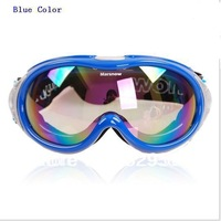 2014 New style Free shipping Ski goggles Ski glasses Large field single-layer anti-fog UV ski goggles