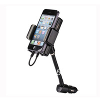 For iphone  5 fm transmitter car fm launch converter  for apple   5 mobile phone holder charger hands-free