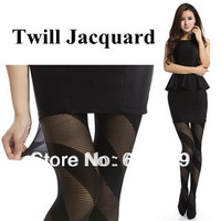 Free shipping Twill Jacquard Pantyhose sexy and fashion Thin section Velvet Plus Modal Female legs socks comfortable and soft