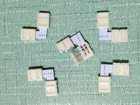 """20 pcs 2-pins Connector """"L"""" shape Clip 8 mm 3528 LED Strip single color Solderless on sale DIY wholesale"""
