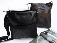 Free shipping wholesaleWholesale manufacturers supply 2013 new braided man bag shoulder bag Messenger bag Japanese and Korean st