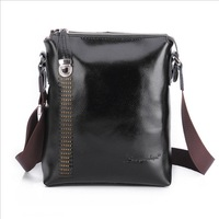 2013 New style fashion men bag 100% genuine leather messenger bags for men high quality man brand business bag