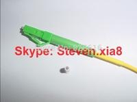 Free shipping, Optical Fiber Patch Cord LC/APC-LC/APC SM Simplex  LSZH  3.0mm 15M Fiber Optic Jumper