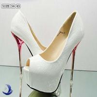 Sexy Ladies wedding heels Big size 34-43 Stiletto Open toe heels Stylish Party Platform Pumps Fashion shoes dropshipping #7580
