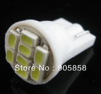 Free Shipping 100 pcs /lot of Car / Auto T10 Signel LED Bulb ( T10-WG-8 SMD 3020 ) 12V DC