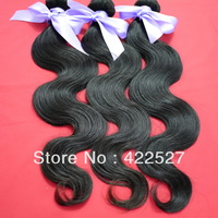 high quality! Free shipping mixed length3pcs/lot  virgin Malaysian hair queen hair products remy human hair extension body wave