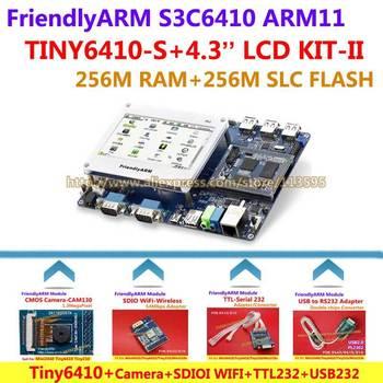 FriendlyARM Development Board ARM Kit -II TINY6410 + 4.3 inch LCD + WIFI + CMOS Camera + TTL-RS232 + USB - RS232 , S3C6410 ARM11