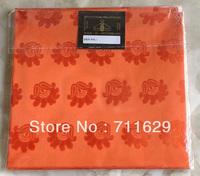 Orange swiss headtie with superior quality,Nigerian swiss mode headtie,top quality best price,1pc/bag