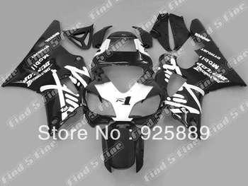 Pre-drilled black white fairings for YZF-R1 98 99 98-99 YZF R1 1998 1999 YZFR1 ABS bodywork & windscreen s8633