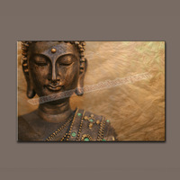 Wholesale Large Buddha Giclee Oil Painting Modern Canvas Printing for Home/Office Wall Artwork Decoration Gifts -- Canvas Print