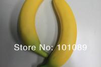 Free shipping Imitation foam fruits banana for display