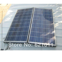 Economic solar system, off grid home solar system includes 500W solar panel, generate about 2000WH electricity everyday