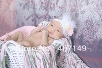 Model# DJ-13218,handmade baby girl headwear,baby shower,photography props for newborn