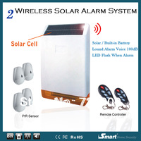 Outdoor Solar Alarm System, Loud Alarm Voice 100dB
