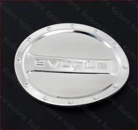 Chrome fuel door gas cover Tank cap For land Range Rover EVOQUE 2012 2013