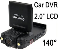 Free shipping Wholesales car dvr car black box car camera ,2.0 inch screen carcam P5000