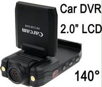 Free shipping Wholesales car dvr car black box car camera ,2.0 inch screen carcam P5000