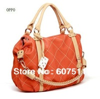 Fashion Shoulder Bag Women Handbag, Pu Leather Quilted Tote Bag Medium Shoulder/Tote Dual Function Bags WB002