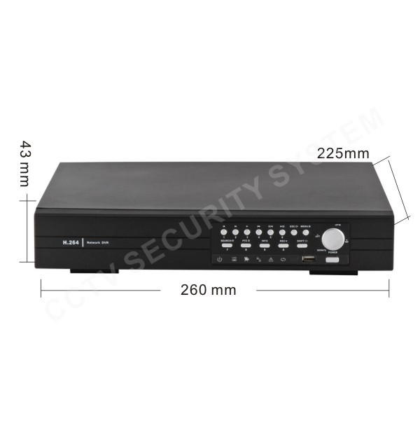 8 Channel CCTV Digital Video Recorder DVR Support 2000GB HDD(China (Mainland))