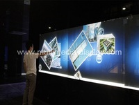 Free shipping 60 inch ten Points touch IR interactive Touch Screen Panel/frame with glass Quick Shipping for advertising