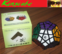 Dayan Megaminx Black with Ridges Speed Cube