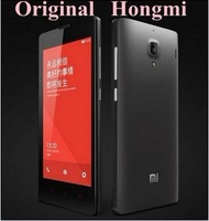 Russian In stock Original XIAOMI Red Rice Hongmi Quad Core MTK6589T1.5Ghz Mobile Phone 1GB RAM 4GB ROM 4.7'' IPS HD phone