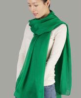 2014 Newest Color 100% Pure Silk ,Ladies Long Shawl Scarf 195cmX65cm
