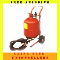 Free shipping portable and creative 5/10/20 Gallon sand blasting machine sand blaster sand jet  high quality