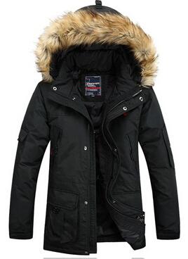 Free shipping 2014 new fashion winter men parkas super deal men s down