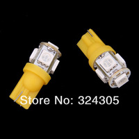 100pcs/lot T10 194 168 192 W5W 5050 5smd  super bright Auto led car clearance bulbs  lighting wedge white red blue yellow green