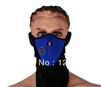 100pcs/lot wholesale Motorcycle Accessories outdoor winter cold dust protection neck face cover mask FREE SHIPPING