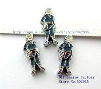 Wholesale 50pcs  8mm Frozen-Hans  slide Charms DIY Accessories Fit Pet Collars wristbands