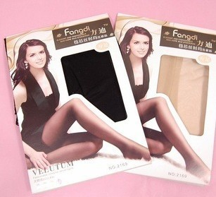 G311 Free shipping 3 colors high quality wrap core silk women's tights stockings pantyhose, consumer pack