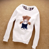 Free shipping 2013 women Cute Long sleeve top fashion Animal Print Pullovers