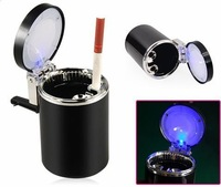 Portable Car Auto LED Light Smokeless Ashtray Cigarette Holder