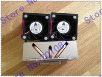 CPU heatsink 662522-001 654592-001 & 654577-001 662520-001  two FANS for PROLIANT DL388p DL380p Gen8 , new , in stock .