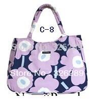 Free shipping  2013 Marimekko  new style women printed cotton canvas bags