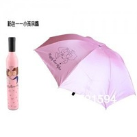Free Shipping have 6 style Novelty Bottle Umbrella Umbrella Shape/Sunshade/ Beach Umbrella/Parasol Creative Gift