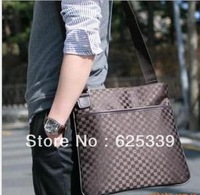 Fashionable Women and men messenger bags 3 colors chose business bags free shipping